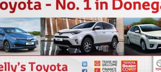 Toyota Continuously Top in Donegal